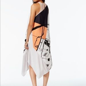 Rachel Roy printed handkerchief dress S